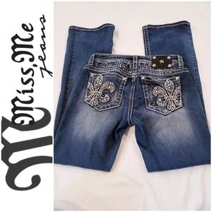 Miss Me  Jean's. Sz 32. Wore once
